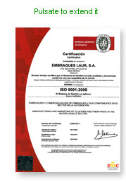Certificate ISO 9001:2008 by Ukas